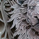Именной герб «Лев»